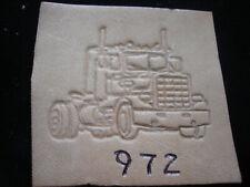 Vintage BaronTool LA Truck Leather Stamp No 972 leathercraft