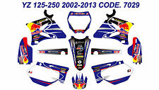 7029 YAMAHA YZ 125-250 2002-2013 Autocollants Déco Graphics Stickers Decals Kits