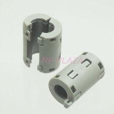 4x TDK Gray Φ11mm Cable Clamp Clip RFI/EMI/EMC Noise Filters Ferrite Core Case
