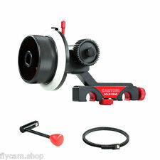 Camtree Flexible Follow Focus with Gear Ring Belt Speed Crank For DSLR Camera