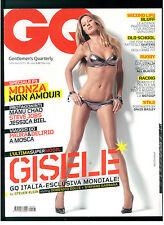 GQ ITALIA 96 SETTEMBRE 2007 GISELLE BUNDCHEN MANU CHAO JESSICA BIEL STEVE JOBS