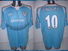 Bolton Wanderers Okocha XL Shirt Jersey Football Soccer Reebok Nigeria Away Top