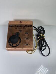 Vintage Model Rectifier Corp HO Hobby Transformer ThrottlePack 501 UNTESTED