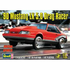 Revell 1990 Ford Mustang LX 5.0 Drag Racer Model Car 1:25 Scale Kit RMX4195