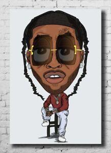 Art Fabric Pop Smoke Meet The Woo Fan Comic Rapper New 24x36 27x40 Poster 569