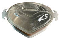 Vintage Guardian Service Cookware Aluminum Triangle Pot W Glass Lid