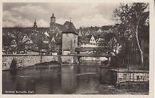 Postkarte - Schwäb. Hall / Ansicht