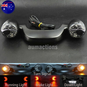 Rear LED Brake Turn Signal Light Bar Fit For Harley Touring Street Glide Black