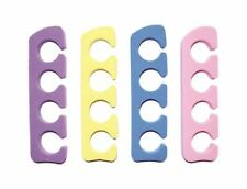 2 Pairs of Soft Foam Toe Separators - Nail Polish Lacquer Pedicure