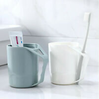 Portable Environmental Plastic Creative Mug Wheat Mate Teeth Cup Mouthwash Cup