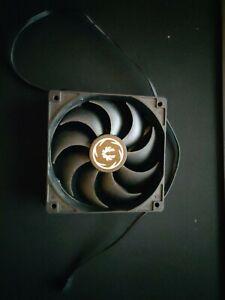 Ventilateur PC 120mm Ordinateur Bitfenix noir - Sans Éclairage Brushless