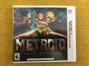 Nintendo 3DS Metroid Samus Returns Game Tested Used Once Perfect Complete