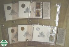 LOT OF 5 - 1975 VATICAN CITY FIRST DAY COVERS WITH INFO CARDS - 99 COIN CO.