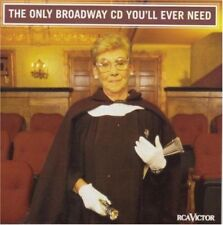 New: MUSICAL CAST RECORDING - The Only Broadway You'll Ever Need CD