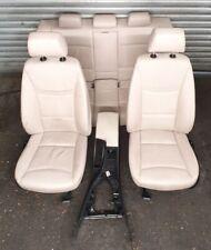 BMW 3 E90 SALOON 320D 325i 330 CREAM LEATHER INTERIOR SEATS & DOOR CARD  #CM