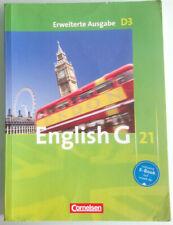 English G 21 - Erweiterte Ausgabe D3 - Schulbuch