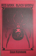 Steven Richmond / Red Work Black Widow First Edition 1976