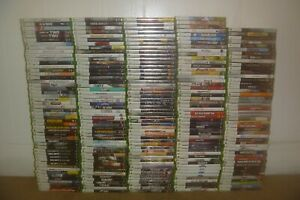 Microsoft Xbox 360 Games! You Choose from Large Selection! With Cases!