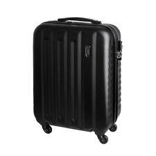 Handgepäck Hartschalen Reise Koffer Trolley Bordgepäck 30 Liter Schwarz 811 C
