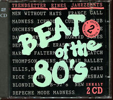 BEAT OF THE 80'S VOLUME 2 - 2 CD COMPILATION [750]