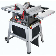"Craftsman 10"" Table Saw Precision Speed Laser Trac Woodworking Metal Shop Garage"