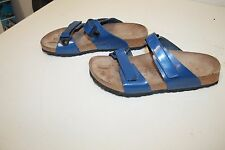 Birkenstock Sandals 2 Strap 265 / US L 10 M 8 in Blue