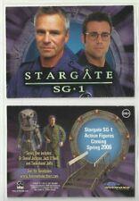 "2006 RITTENHOUSE ""STARGATE - SG1"" DIAMOND SELECT TOYS PROMO CARD - GOOD COND]"
