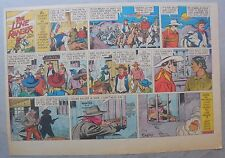 Lone Ranger Sunday Page by Fran Striker and Charles Flanders from 5/14/1939
