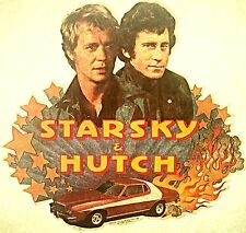 Vintage 70s Starsky And Hutch Iron-On Transfer TV Legends RARE!