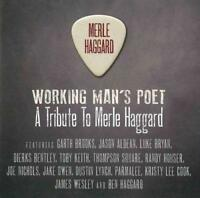 VARIOUS ARTISTS - WORKING MAN'S POET: A TRIBUTE TO MERLE HAGGARD NEW CD