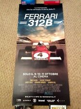 FERRARI 312B Formula 1 One F1 Movie Poster NIKI LAUDA GERHARD BERGER DAMON HILL