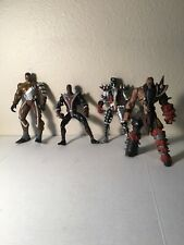 Lot Of Four Spawn Action Figure
