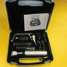 ENT Opthalmoscope Otoscope Nasal Larynx Diagnostic Set Kit CE New