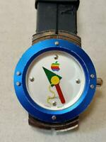 Apple Mac OS 8 Computer Macintosh Analog Watch Rainbow Logo 1995