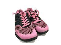 Reebok Womens Size 8.5 M Pink/ Black Crossfit CF74 Athletic Cross Training Shoes
