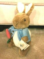 "New Peter Rabbit from Beatrix Potter, an eden gift #30725, 12"" plush w/ tag"