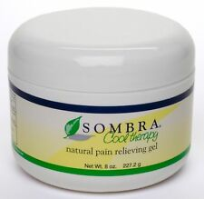 SOMBRA COOL THERAPY ALL NATURAL PAIN RELIEF GEL 8oz FREE FAST SHIPPING