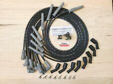 Msd Super Conductor Spark Plug Wire Set Black Universal Ls Series Remote Coils