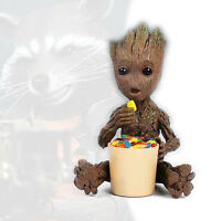 Eating Sugar Baby Groot Candy Box Guardians of the Galaxy vol. 2 Figurine