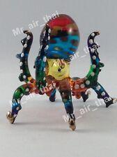 Miniature Octopus Glass animals figurine Art glass figurine dollhouse Sea Animal