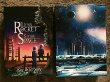R IS FOR ROCKET & S IS FOR SPACE Ray Bradbury 1000 copy SIGNED (Artists ONLY)