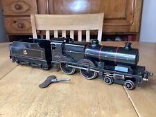 More details for bassett lowke o gauge clockwork br black 4-4-0 compound locomotive 41109