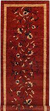 Traditional Handmade Persian Gabbeh Carpet Runner 214cmx74cm/7'x2'4''ft