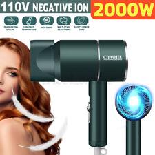 2000W AC 110V Powered Hair Dryer Blow Women Air Blower Beauty Travel Salon Tool