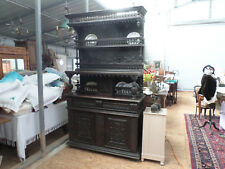 French Antique Renaissance Cupboard Vaisselier cabinet 1700s c809