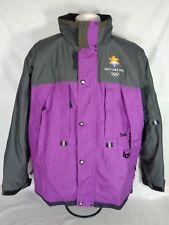 2002 Olympics Jacket Salt Lake Winter Games Ski Coat Adult SZ Large