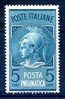 POSTA PNEUMATICA RUOTA 1947 - Lire 5 NUOVO **