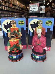 The Joker & Robin Bust DIAMOND SELECT TOYS Batman Classic 1966 TV Series