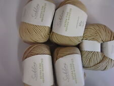 5 x 50g Balls Sublime Extra Fine Merino Worsted Wool for Knitting/Crochet sh061