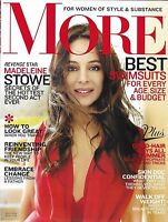 More Magazine Madeleine Stowe Best Swimsuits Friendship Change Summer Hair 2012